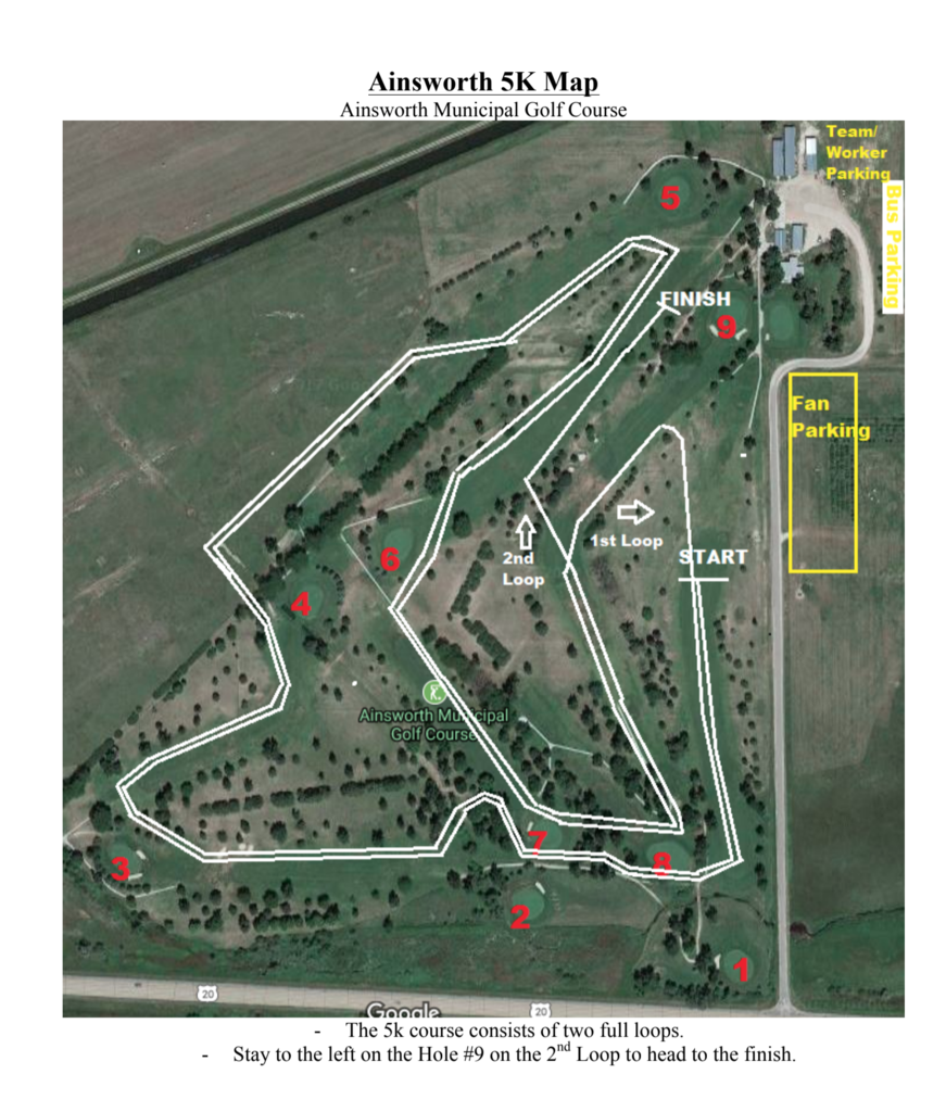 District XC Map