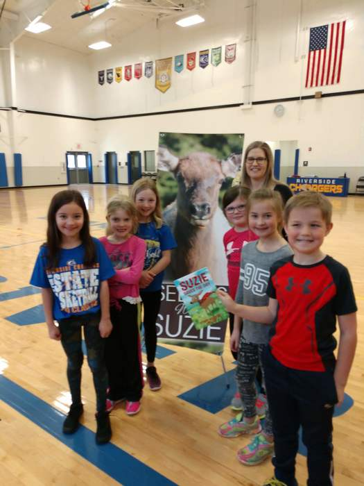 kids with Nebraska author