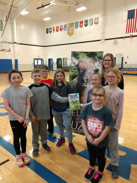 Students will Nebraska author.