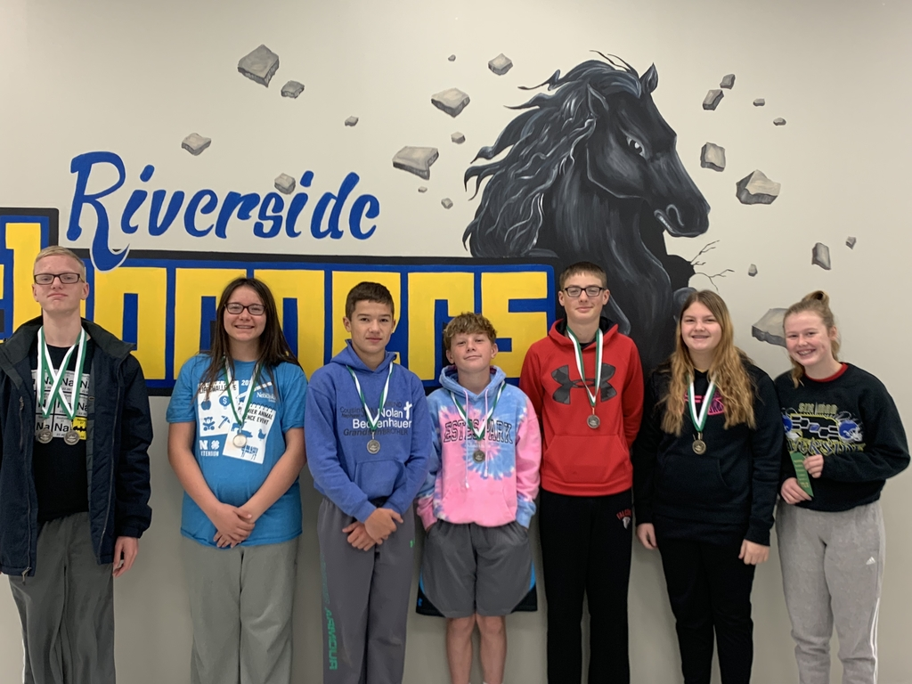 Students who placed at SA Academic Day.