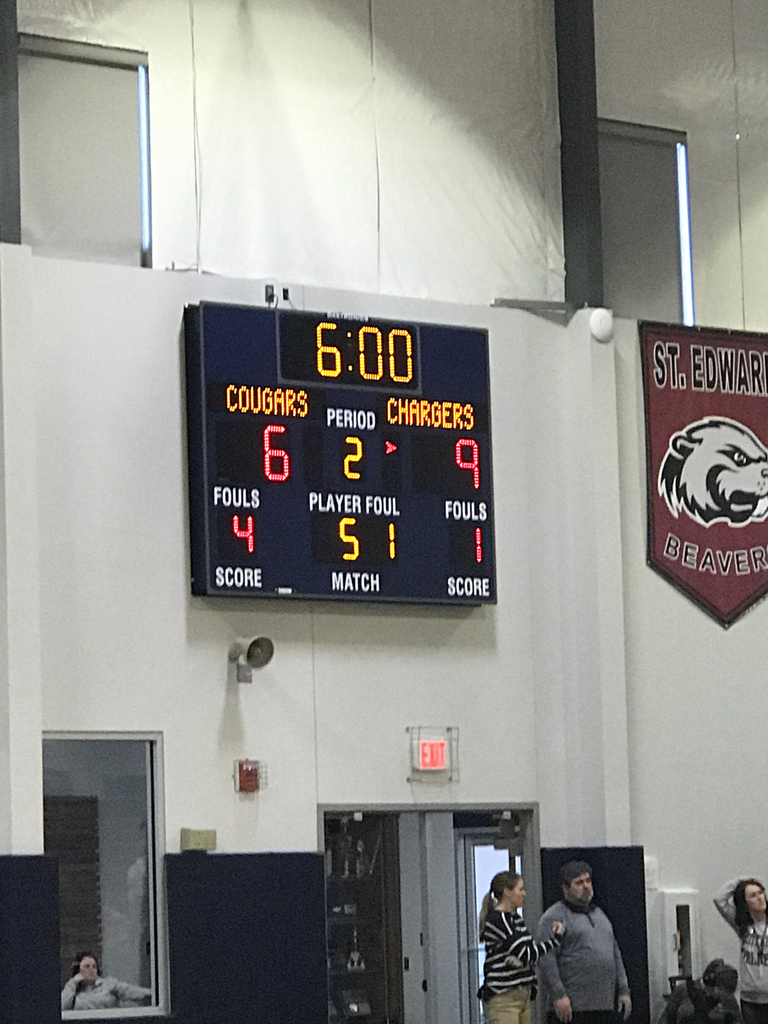 Score of junior high game